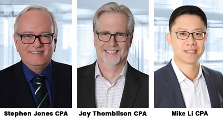 Stephen Jones CPA, CA & Jay Thomblison CPA, CA